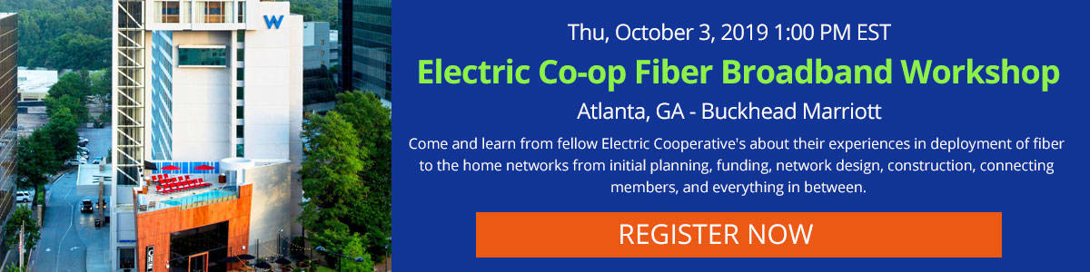 Electric Co-op Broadband Workshop